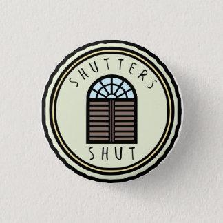 Badges Bouton fermé par volets
