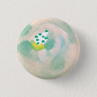 Badges Bouton floral d'aquarelle abstraite