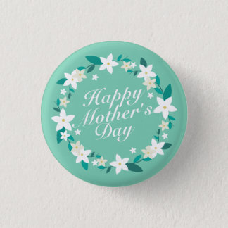 Badges Bouton floral élégant de Pin de la guirlande | du