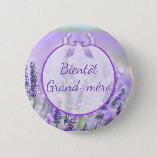 Badges Bouton Grand-mère de baby shower de Bientôt