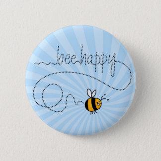 Badges bouton heureux de traînée d'abeille