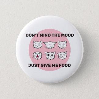 Badges Bouton illustré par humeur de nourriture