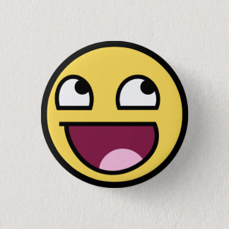Badges Bouton impressionnant de visage