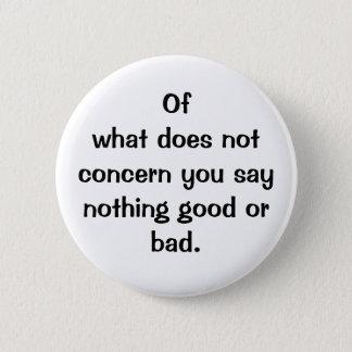 Badges Bouton italien du proverbe No.128