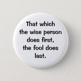 Badges Bouton italien du proverbe No.148