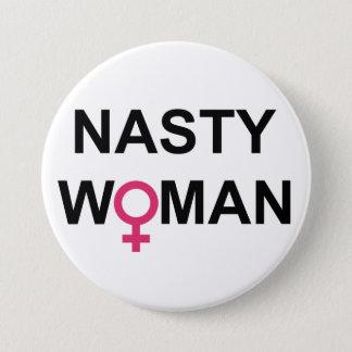 Badges Bouton méchant de femme