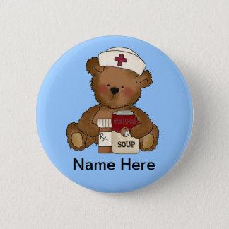 Badges Bouton mignon d'infirmière