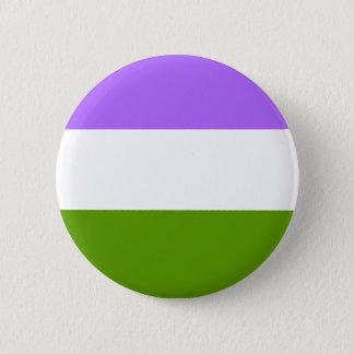 Badges Bouton Non-Binaire de LGBTQA Genderqueer