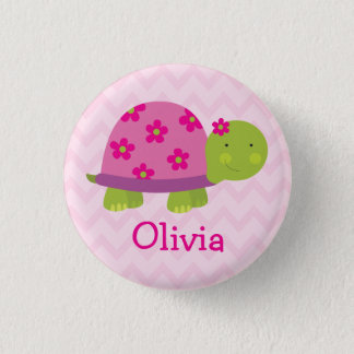 Badges Bouton personnalisé par tortue mignonne pour des