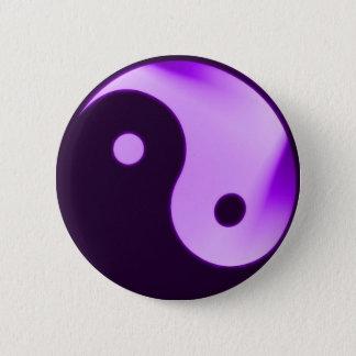 Badges Bouton pourpre de yang de Yin