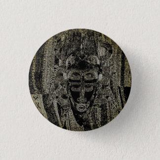 Badges Bouton psychédélique africain de masque -
