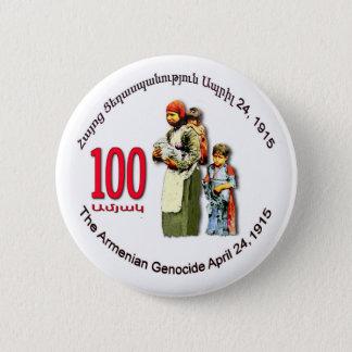 Badges Bouton rond commémoratif de génocide arménien