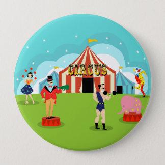 Badges Bouton rond de cirque vintage