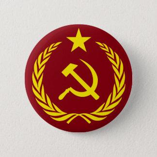 Badges Bouton rond de drapeau communiste de guerre froide