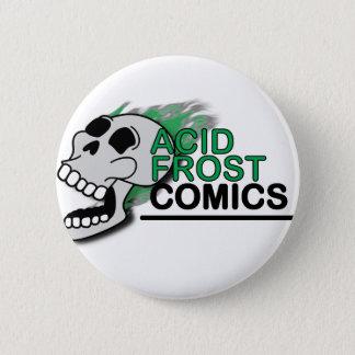 Badges Bouton rond de Frost de crâne acide de bandes