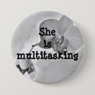 Badges Bouton rond multitâche du jour de mère de maman