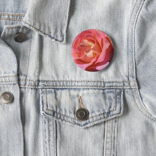 Badges Bouton rond Roses Fleur