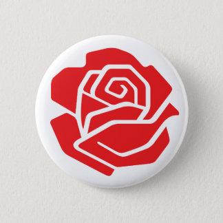 Badges Bouton rose de socialiste