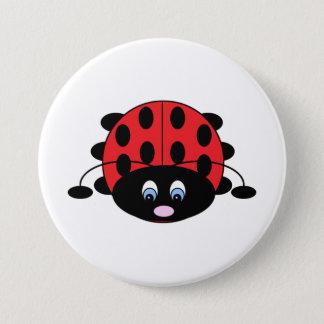 Badges Bouton rouge mignon de coccinelle
