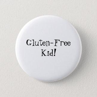 Badges Bouton sans gluten d'enfant