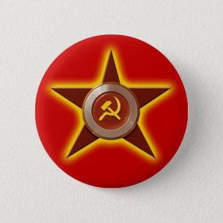 Badges Bouton soviétique d'étoile