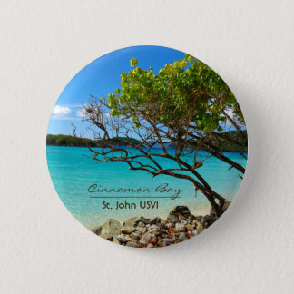 Badges Bouton tropical de Pin de St John USVI de baie de