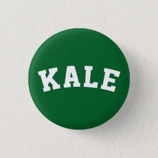 Badges Bouton végétalien d'humour de chou frisé