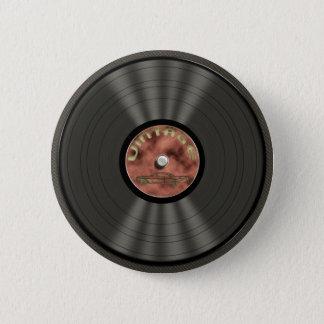Badges Bouton vintage de disque vinyle