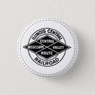 Badges Bouton vintage de logo de chemin de fer central de