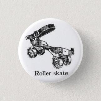 Badges Bouton vintage de patin de rouleau