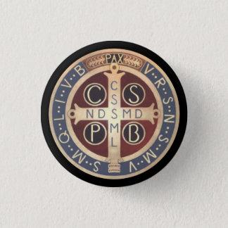 Badges Boutons de médaille de St Benoît, toutes les