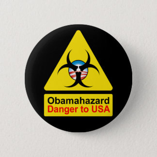 Badges Boutons de risque d'Obama