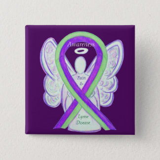 Badges Boutons de ruban de conscience de la maladie et de