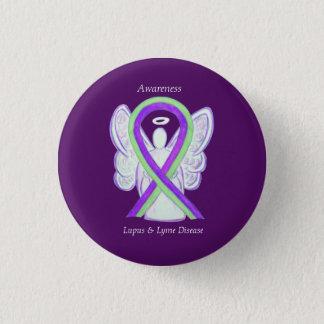 Badges Boutons de ruban de la maladie de Lyme et de