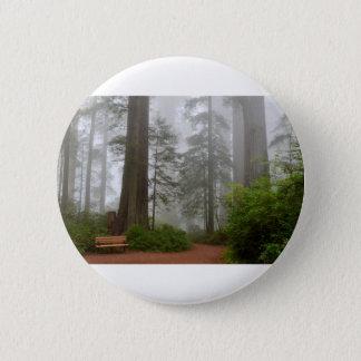 Badges Brouillard de parc national de séquoia