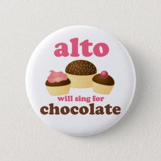 Badges Cadeau drôle de musique de citation de chocolat