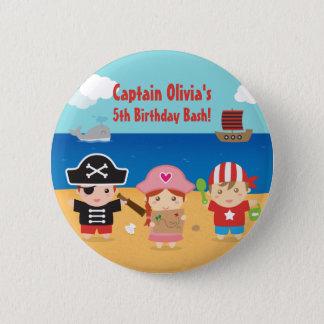 Badges Cadeaux orientés d'anniversaire de enfant de