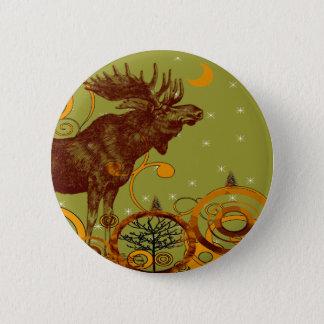 Badges Cadeaux vintages d'orignaux
