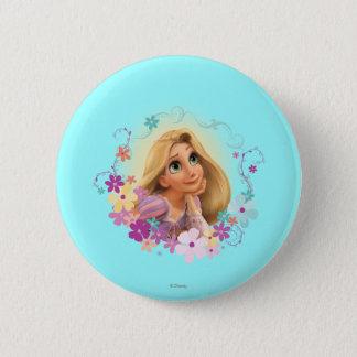 Badges Cadre de fleur de Rapunzel