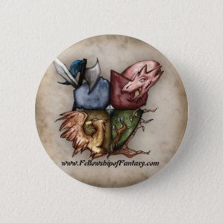 Badges Camaraderie de bouton de logo d'imaginaire