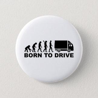 Badges Camion d'évolution soutenu pour conduire