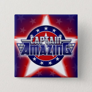 Badges Capitaine Amazing Button