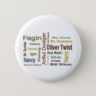 Badges Caractères d'Oliver Twist