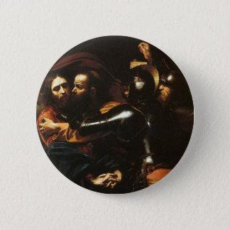 Badges Caravaggio - prise du Christ - illustration