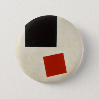 Badges Carré noir et carré rouge par Kazimir Malevich