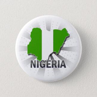 Badges Carte 2,0 de drapeau du Nigéria