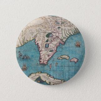 Badges Carte antique de la Floride et du Cuba