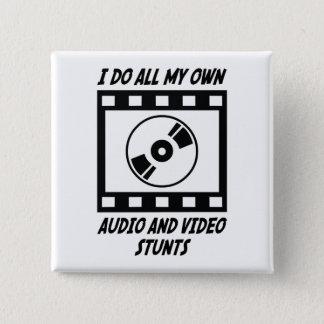 Badges Cascades audio et visuels