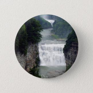 Badges Cascades supérieures et moyennes de parc d'état de