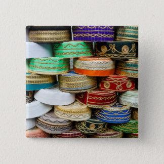 Badges Casquettes arabes au marché